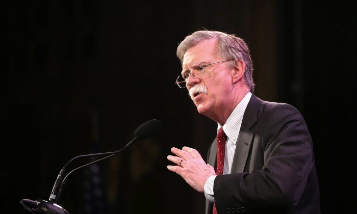 Meeting with John Bolton