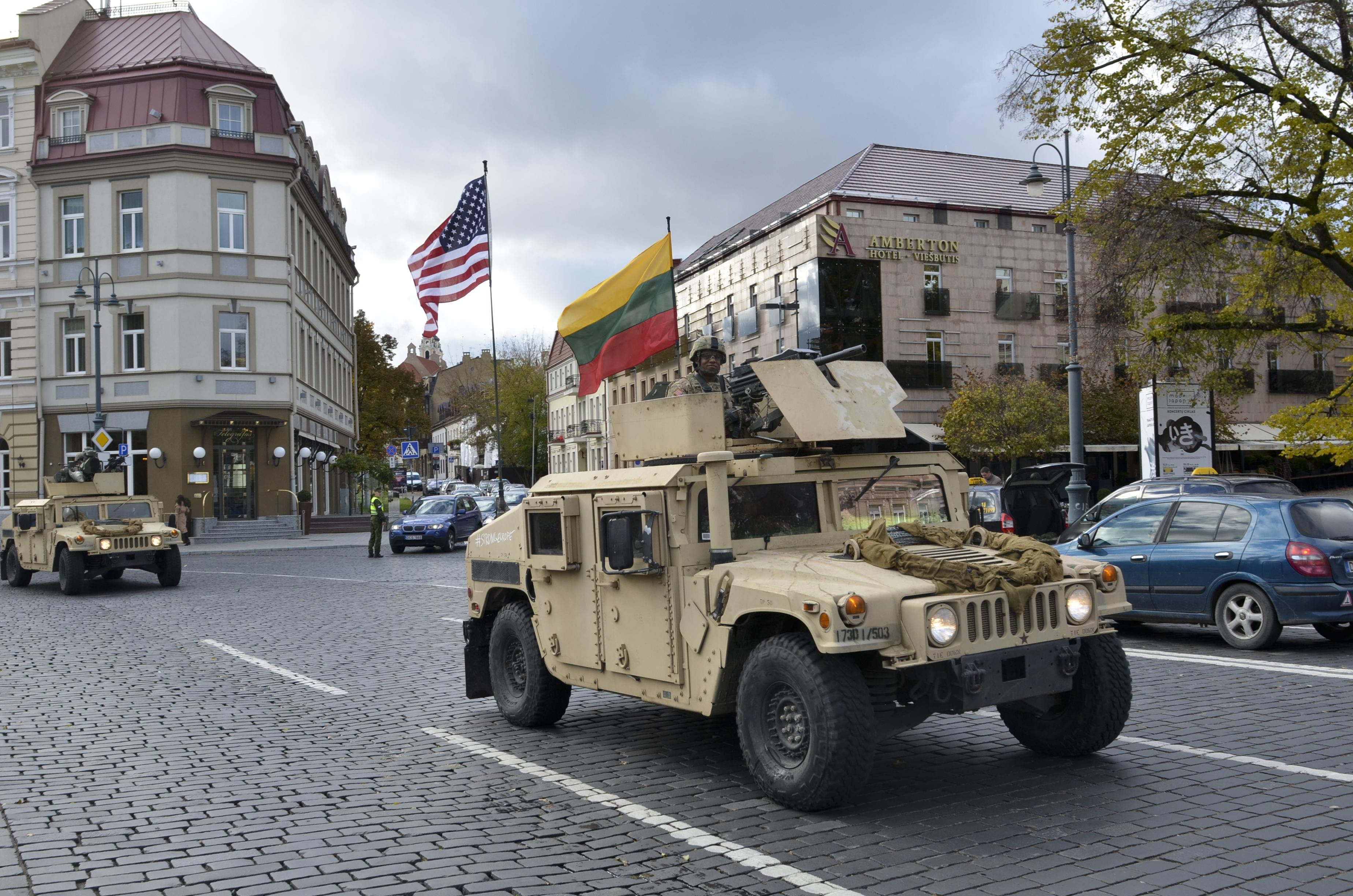 Permanent U.S. Base: Strengthening NATO's Defensive Potential