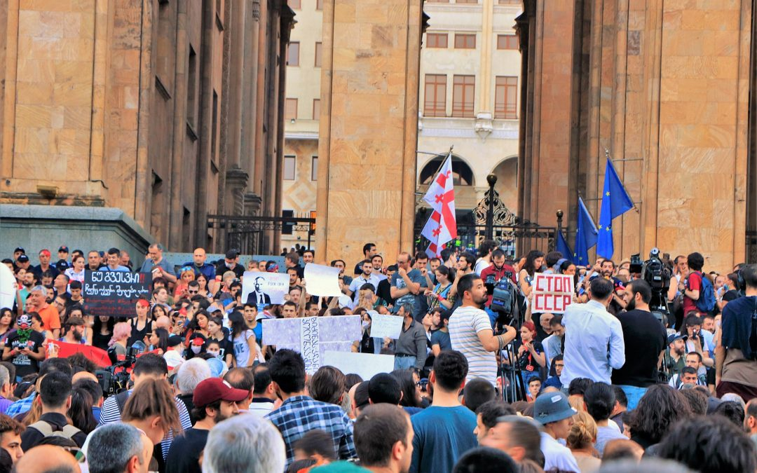 Georgians Took to the Streets
