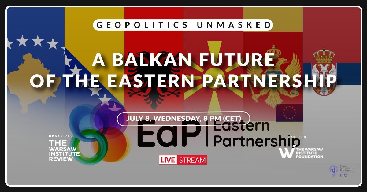 Online Debate: A Balkan future of the Eastern Partnership