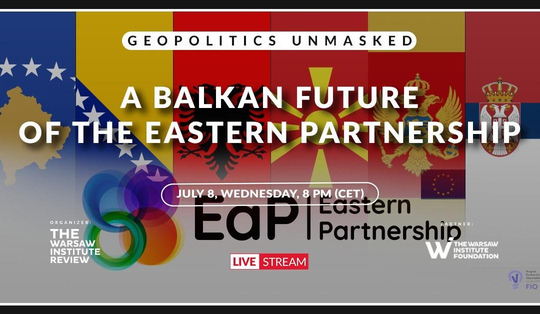 Online Debate: A Balkan future of the Eastern Partnership
