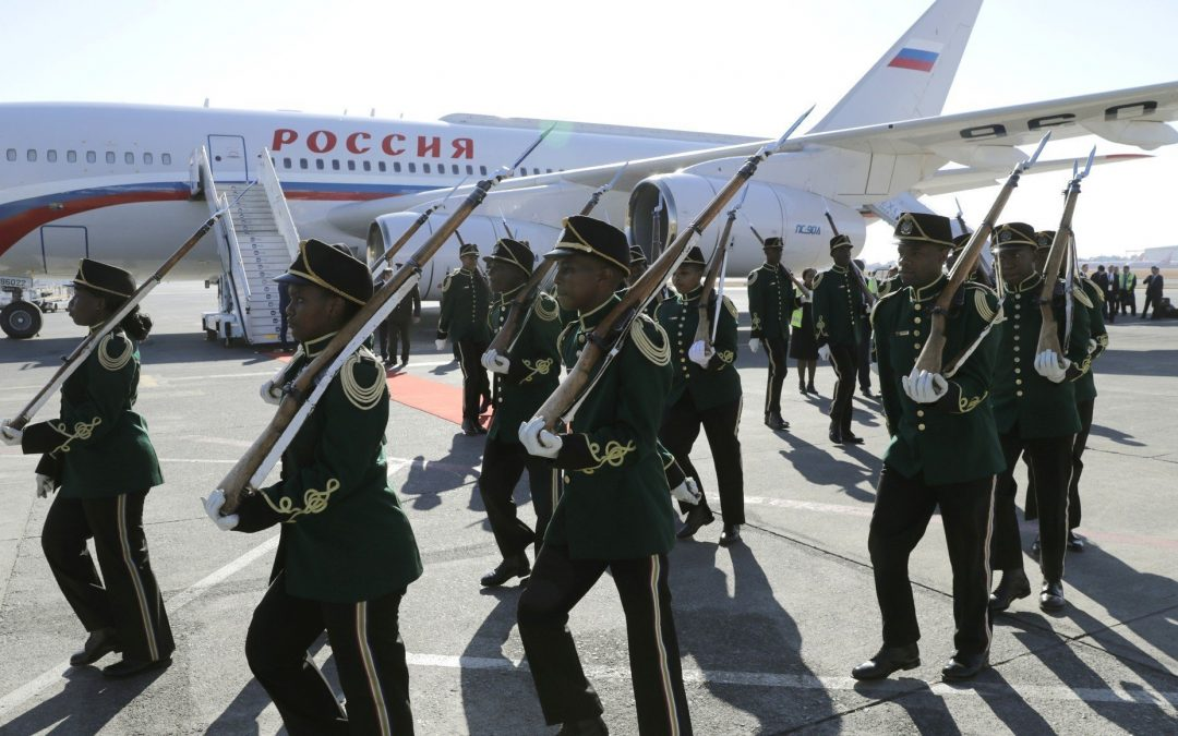 Russia in Africa: Weapons, Mercenaries, Spin Doctors.