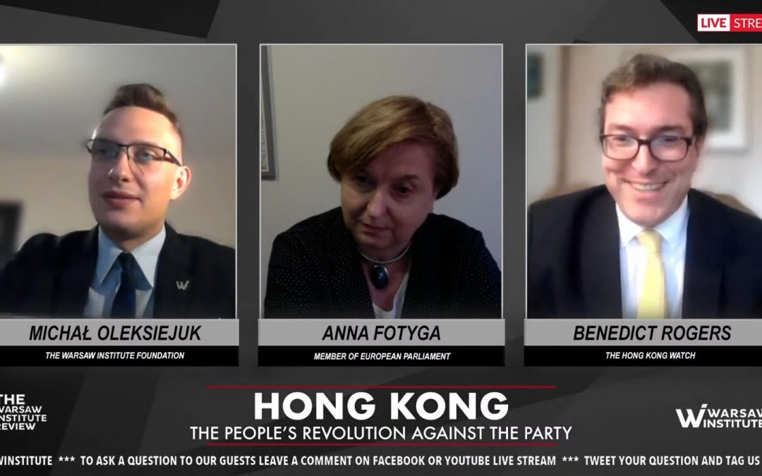 Hong Kong – the people's revolution against the Party