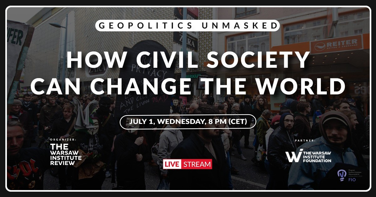 How civil society can change the world | LIVE stream